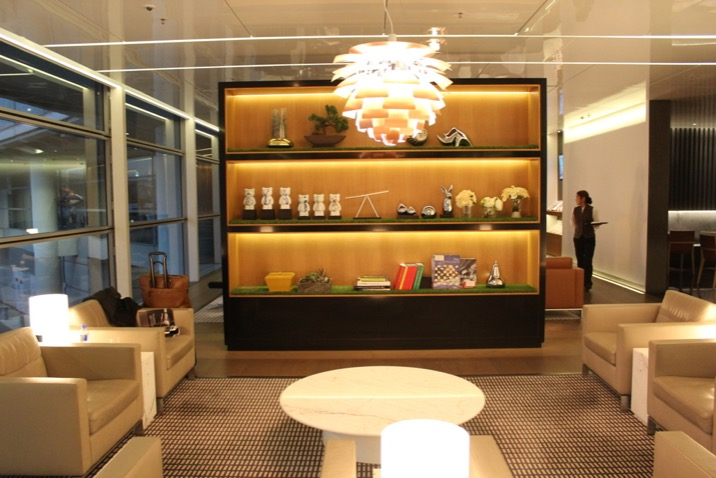 Cathay Pacific's The Bridge Lounge at HK Airport