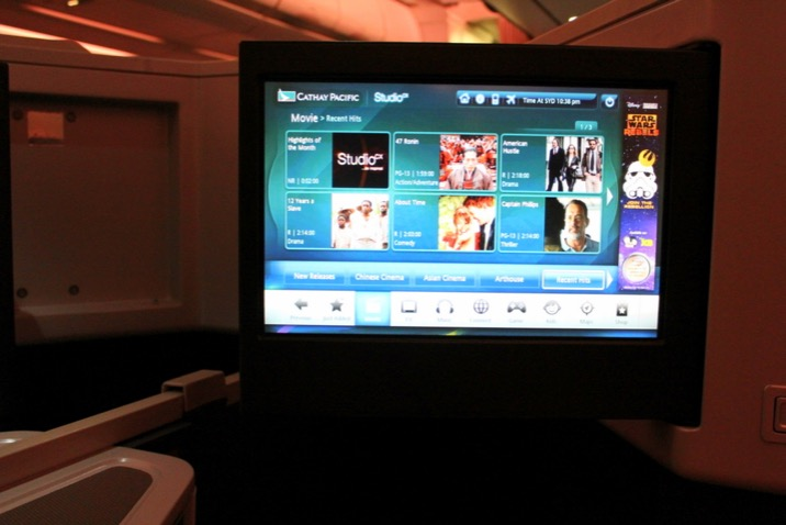 Studio Cx - Cathay Pacific's Entertainment System