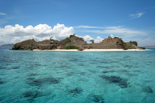 Labuan Bajo in Flores, Indonesia