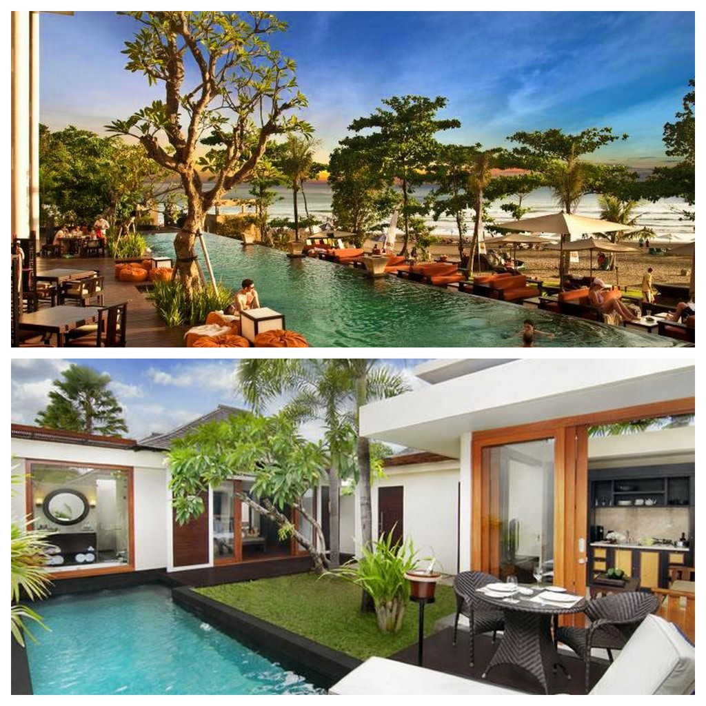 Anantara Resort & Spa and Anantara Vacation Club. Both in Seminyak, Bali