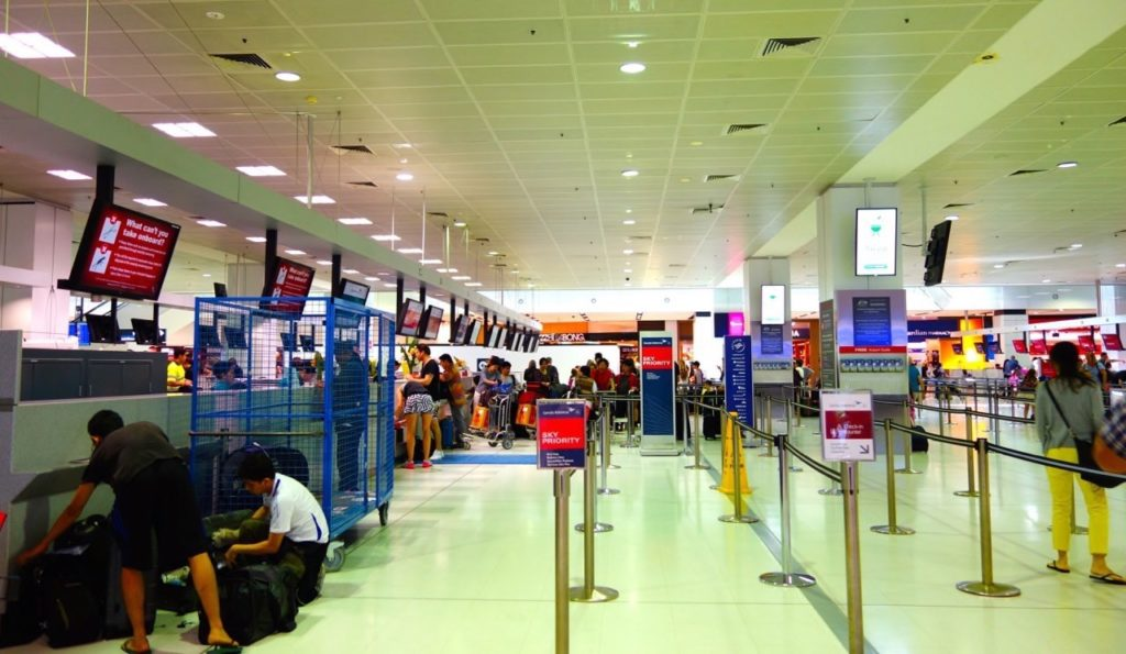 Garuda Indonesia Check-In Desks at Sydney Airport