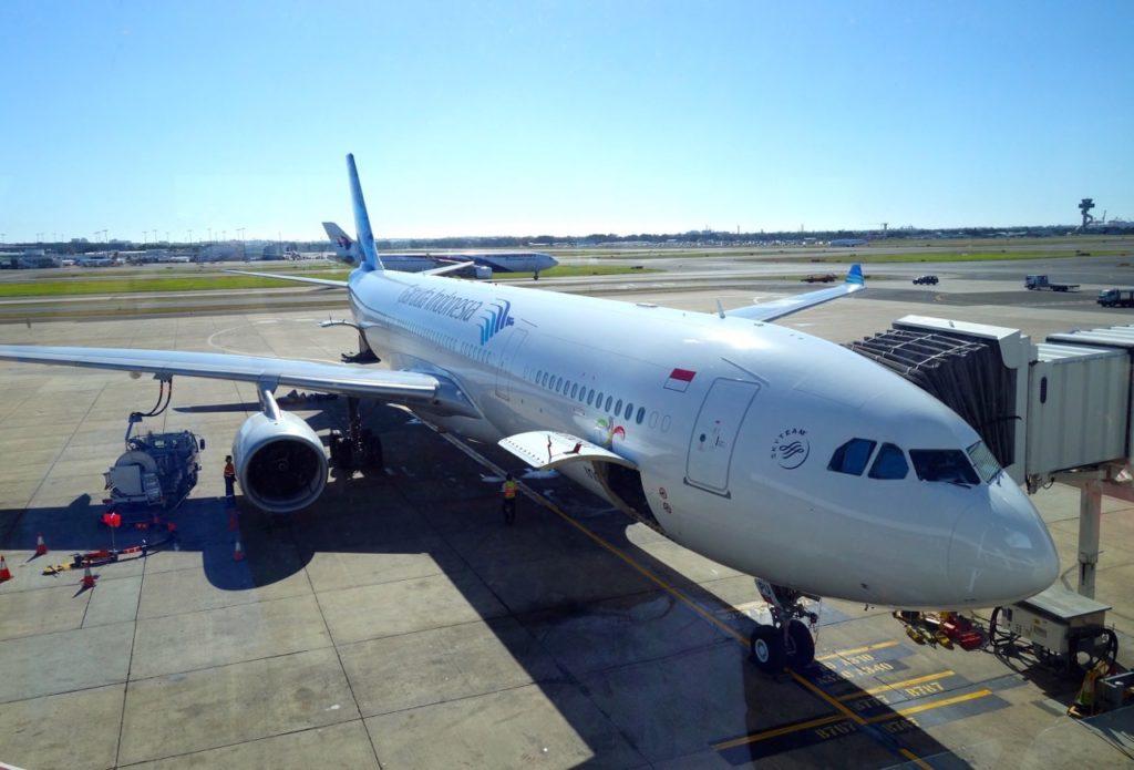 GA 715 Sydney to Denpasar. Airbus A330-300