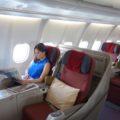 Garuda Indonesia GA 715 Business Class Sydney to Denpasar
