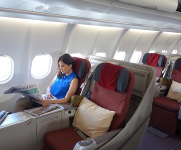 Flight Review: Garuda Indonesia Business Class Sydney to Denpasar (Bali)  A330-300