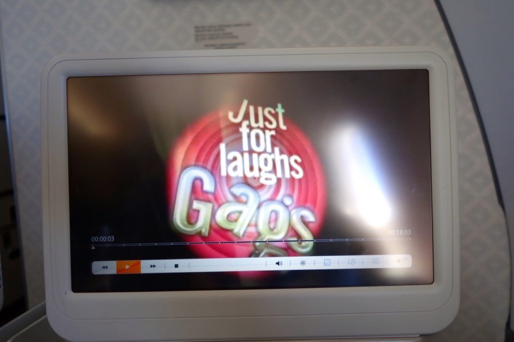 Just for Laughs! On Garuda Indonesia Business Class Sydney to Denpasar A330-300