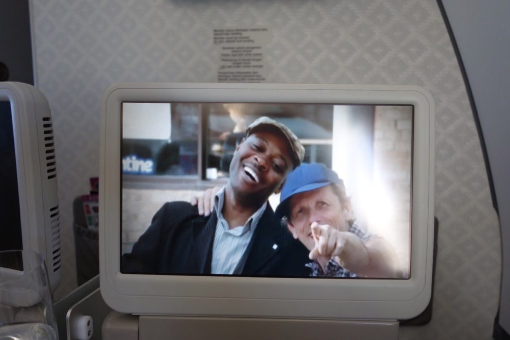 Just for Laughs on Garuda Indonesia Business Class Sydney to Denpasar A330-300