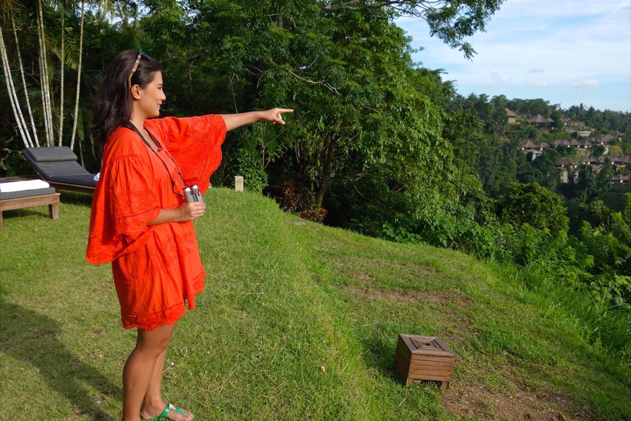 Playing I Spy in Ubud