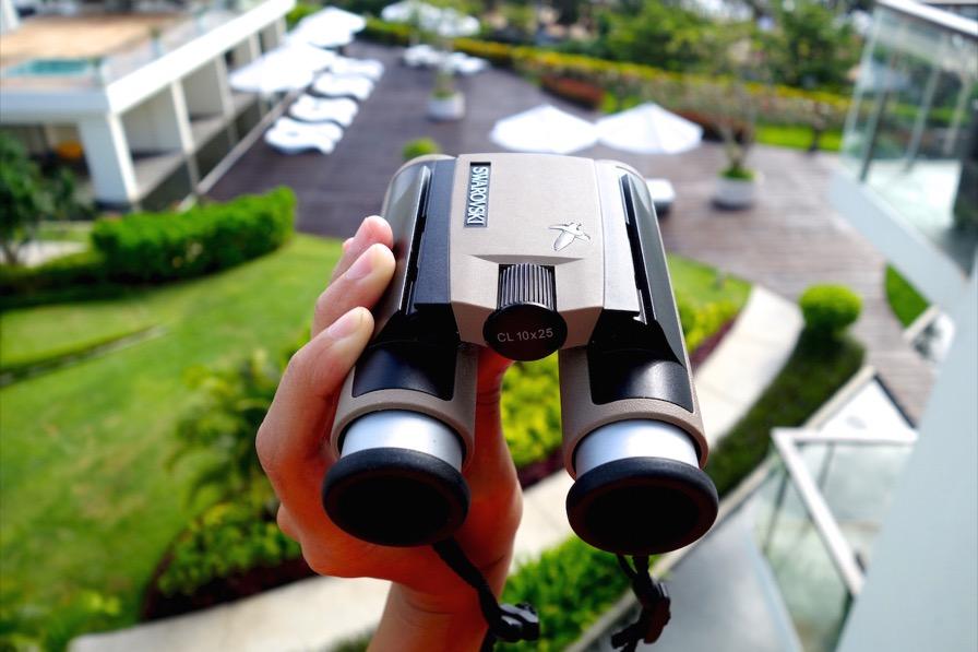 The Swarovski Optik CL Pocket Binoculars: lightweight and compact