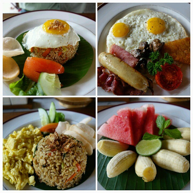 Breakfast at Kayumanis Jimbaran Private Estate