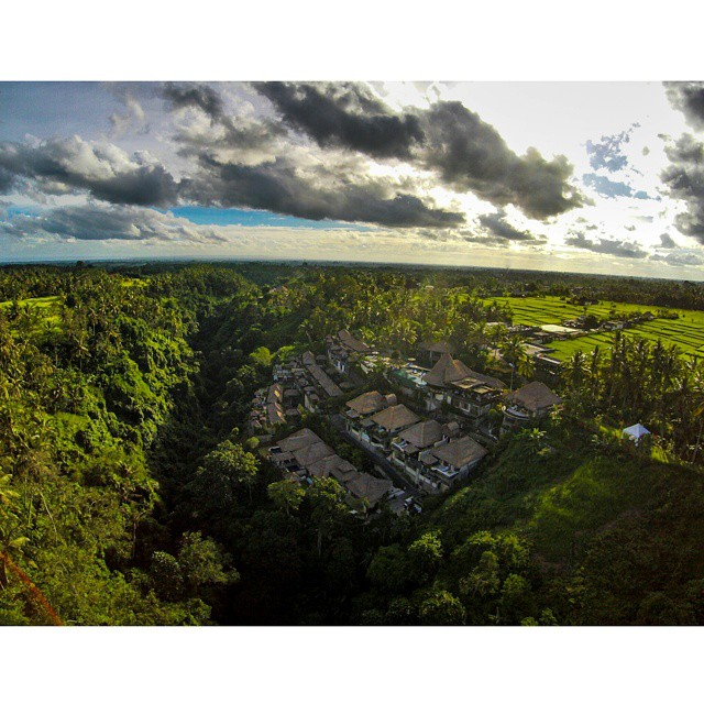 Aerial view of Viceroy Bali. Photo by Zombie!