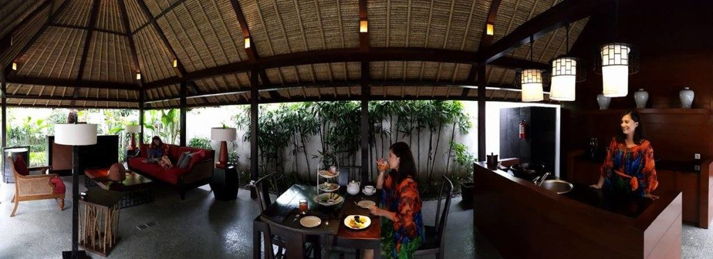 living area of the private villas of Kayumanis Jimbaran Private Estate
