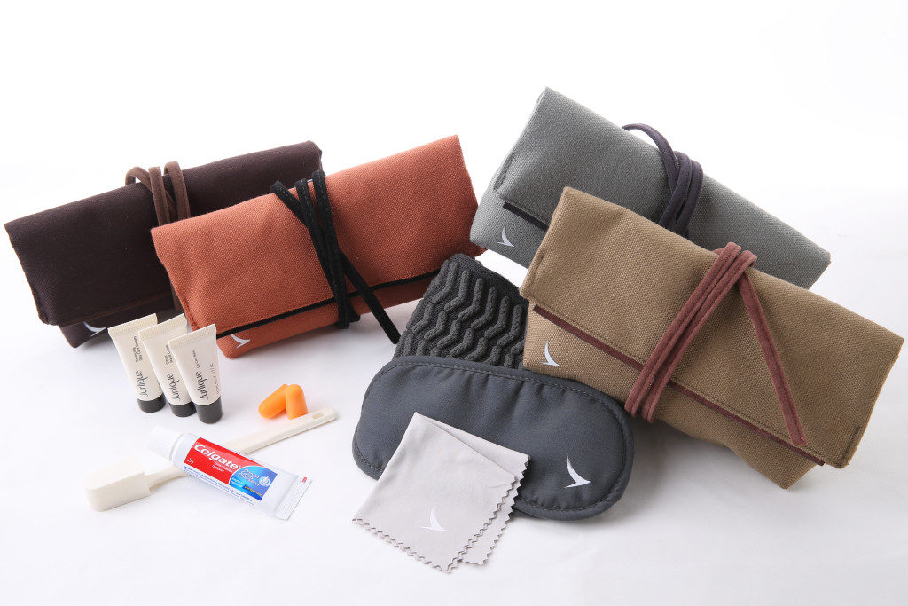 Cathay Pacific's New Business Class Amenity Kit