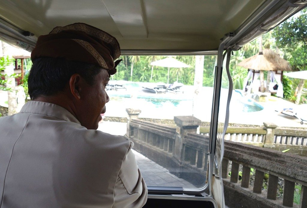 Buggy Service. Viceroy Bali