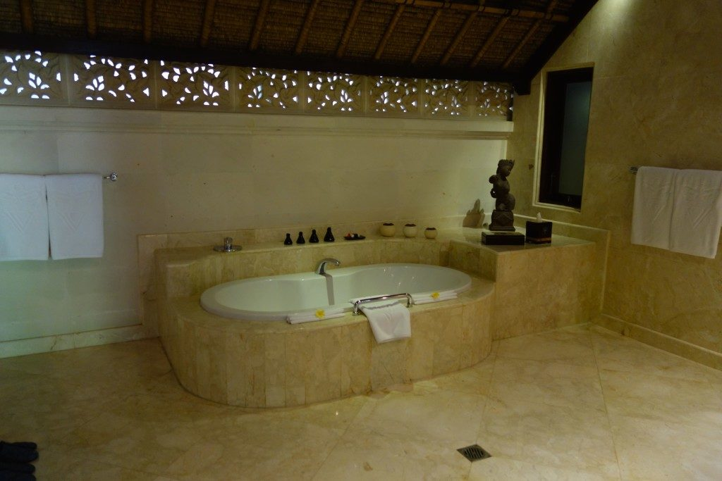 Bathroom at a Vice Regal Villa II Viceroy Bali