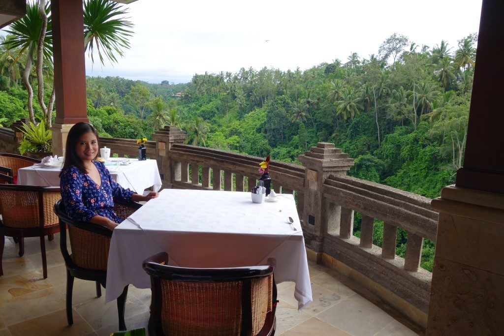 Breakfast at Cascades Restaurant, Viceroy Bali