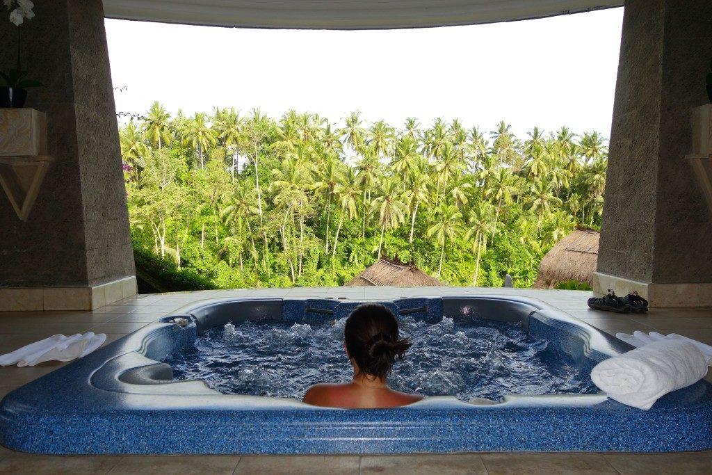 Lembah Spa. Viceroy Bali