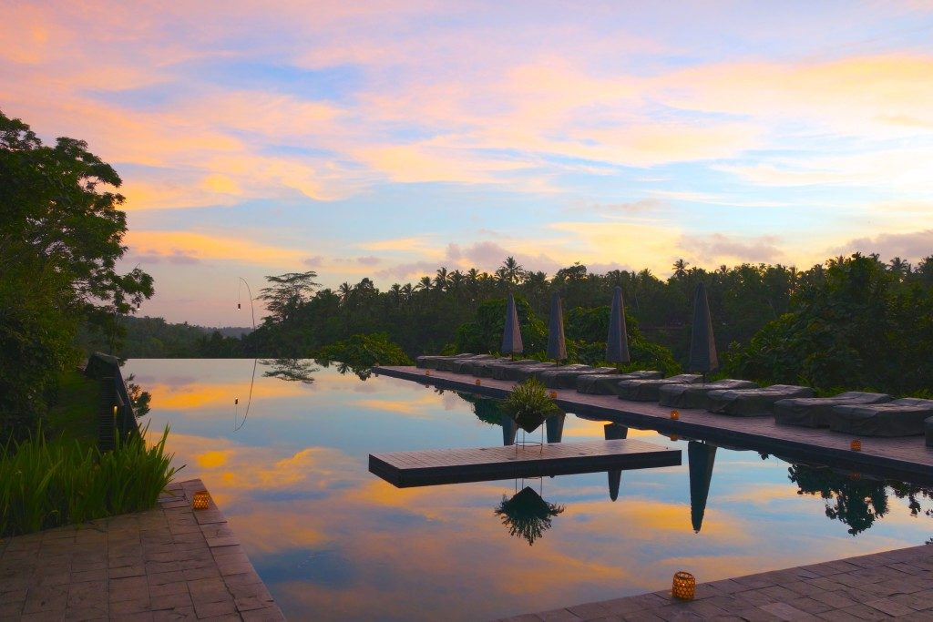 Award Winning Pool of Alila Ubud Bali