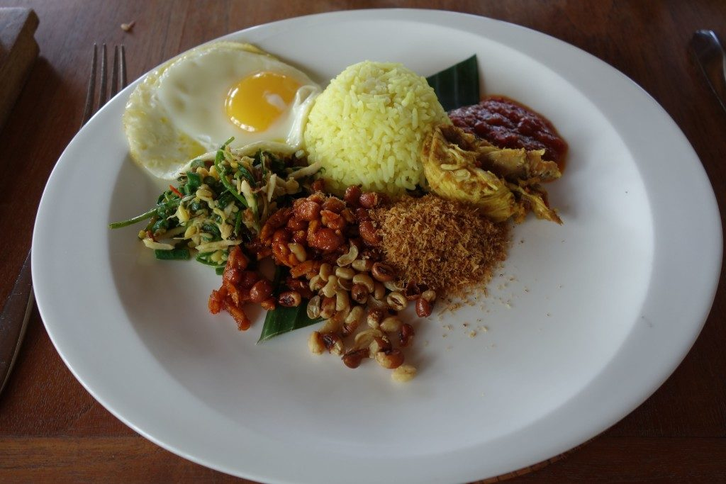 Breakfast at Alila Ubud Bali-Nasi Goreng