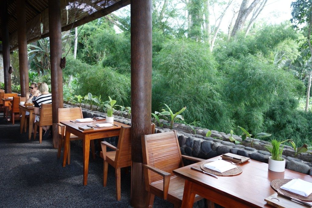 Breakfast at Plantation Restaurant, Alila Ubud