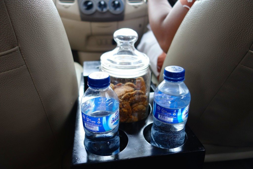 Welcome amenity in the pick up car service of Kayumanis Jimbaran