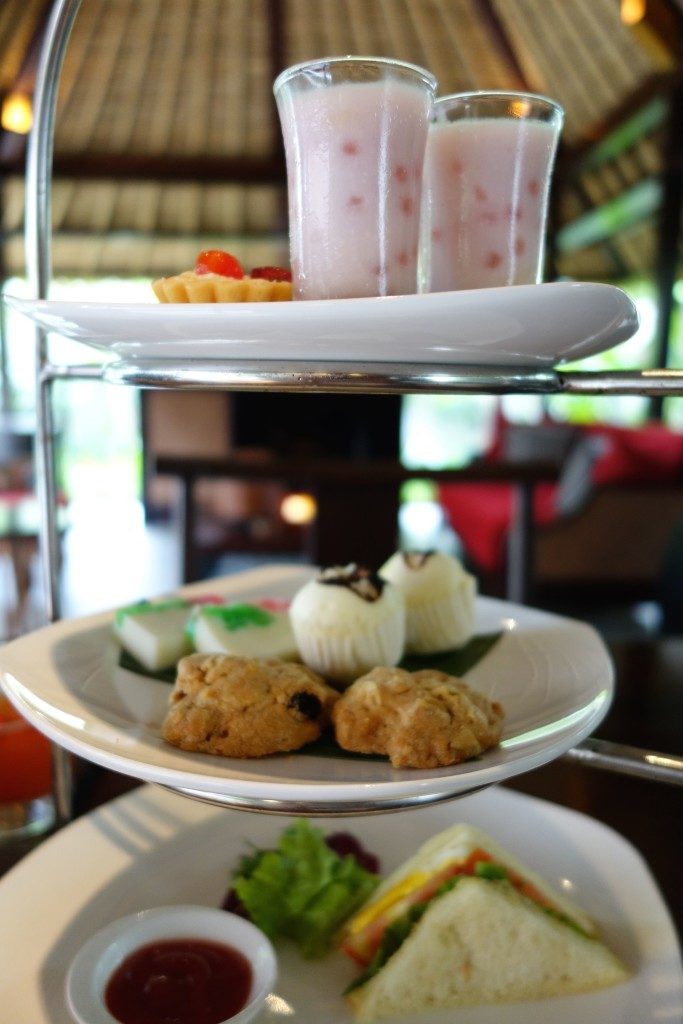 afternoon tea at Kayumanis Jimbaran Private Estate