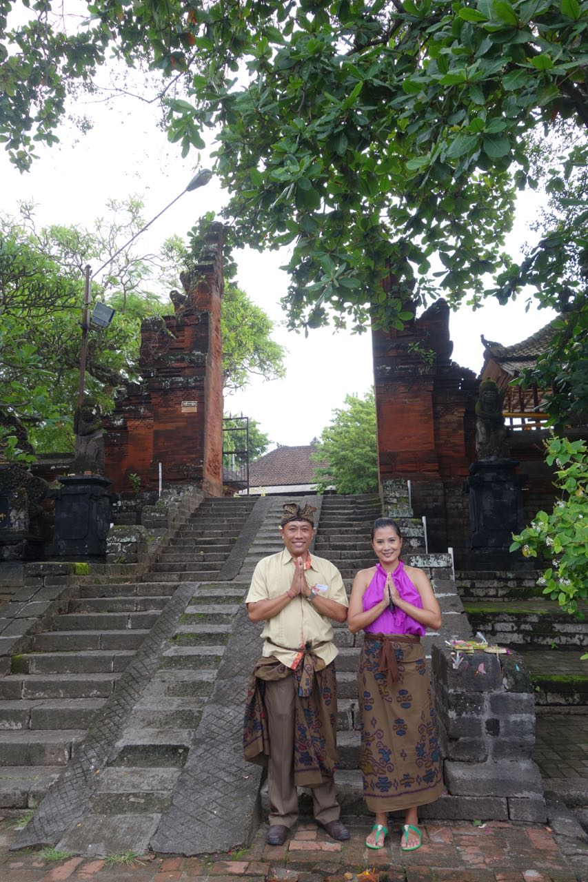 Temple Visit with Anantara Vacation Club Bali's Recreation Manager Pak Barra