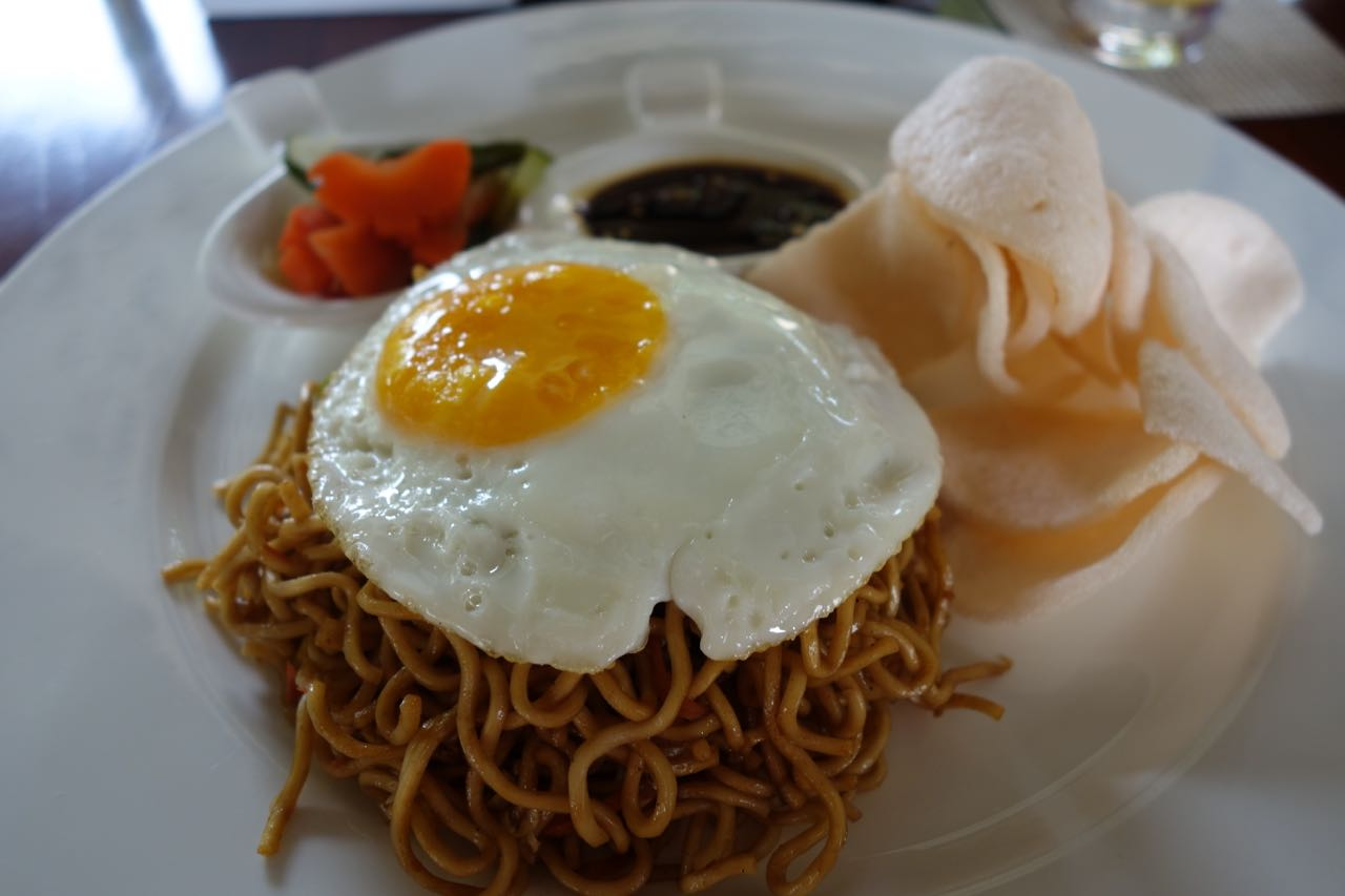 Mee Goreng for Breakfast - Anantara Vacation Club Seminyak Bali