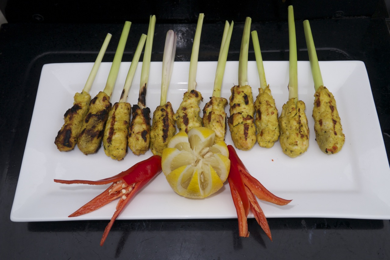 Chicken Satay Lilit