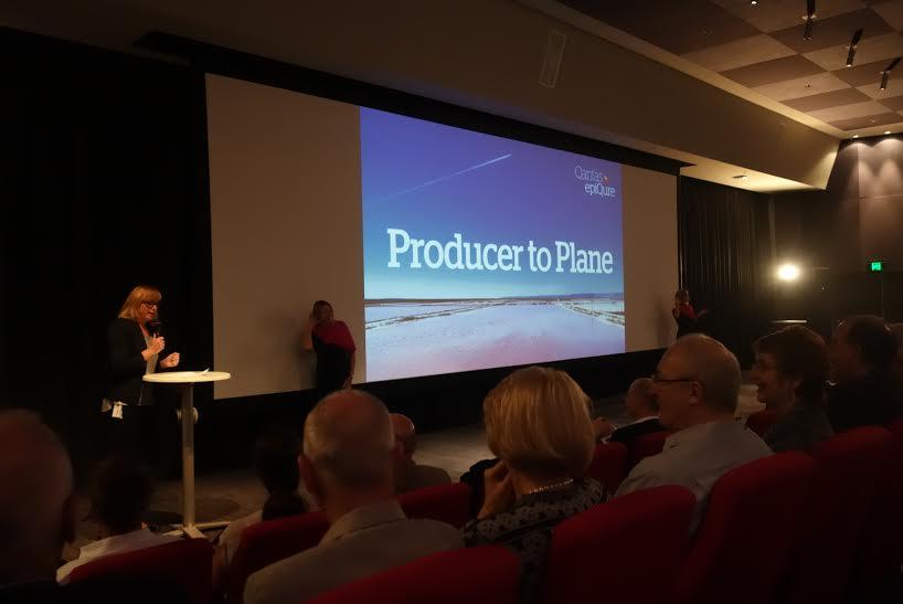 Qantas Epiqure Producer to Plane evening