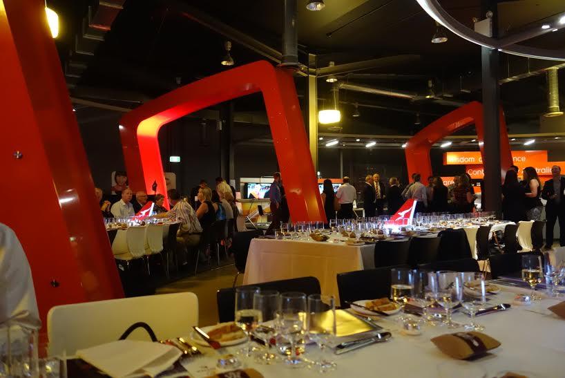 Qantas Epiqure Producer to Plane Event
