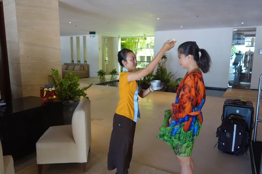 Farewell Ritual at Anantara Resort & Spa Seminyak Bali