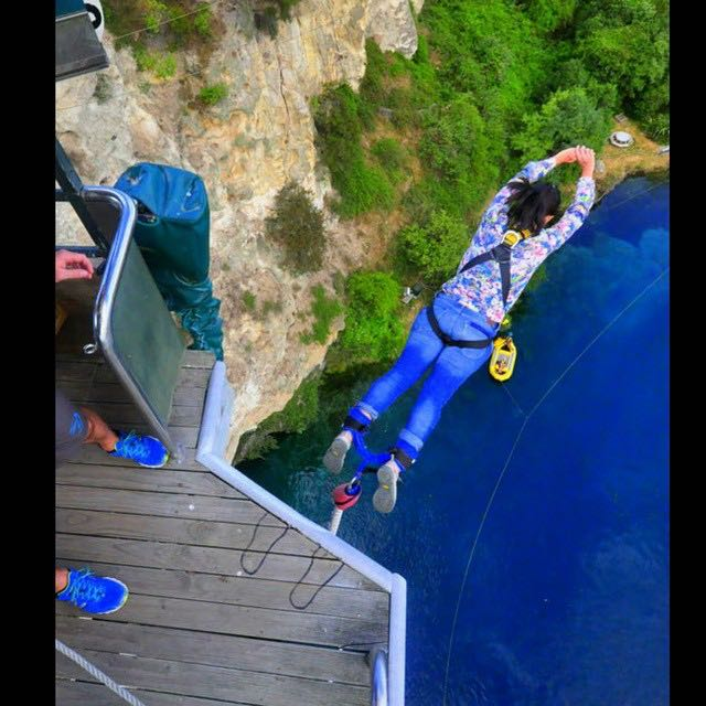 Bungy Jumping with Taupo Bungy - Haka Tours North Island Tour