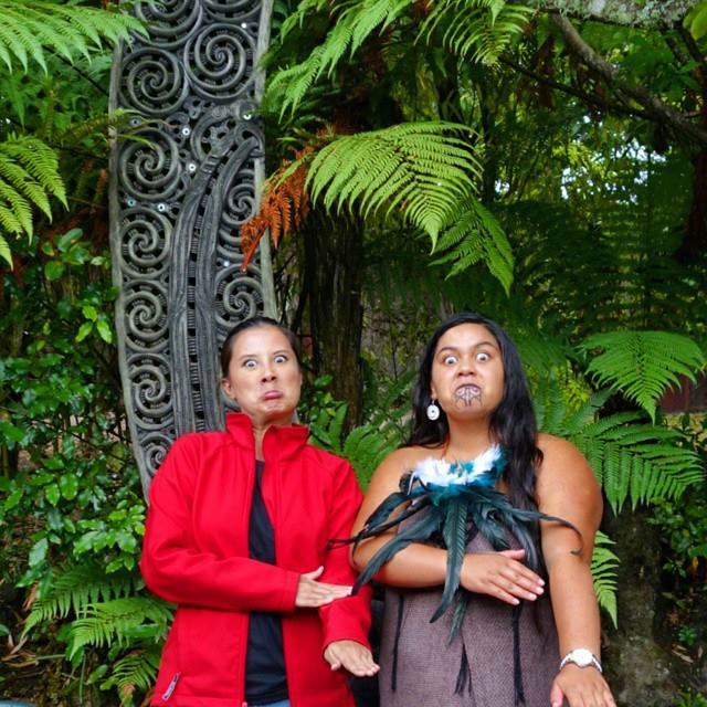 "PUKANA, which literally means ""glaring"" are facial expressions that are an integral part of the Maori culture"