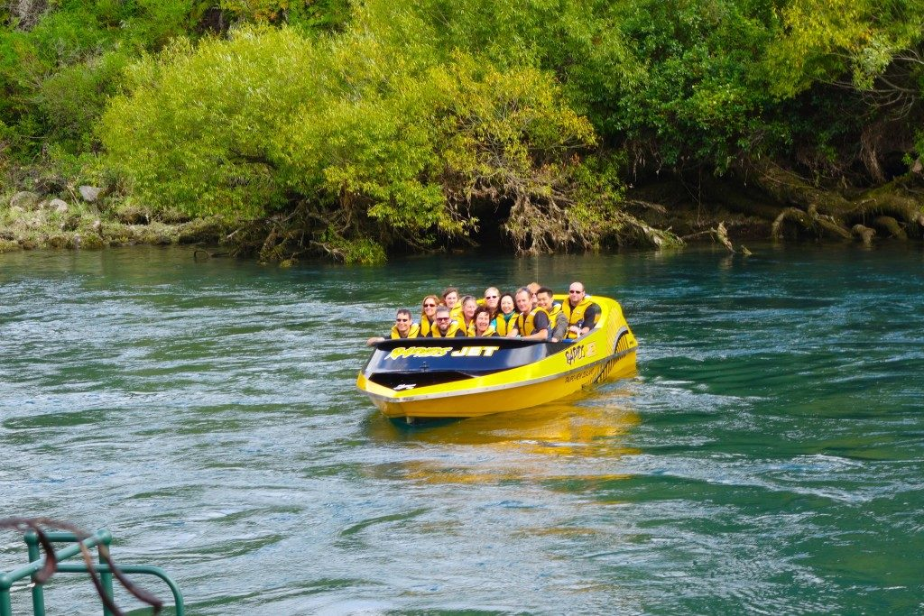 Rapids Jet in Huka Falls