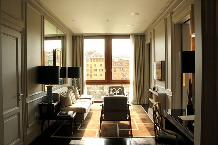 Portrait Firenze. Lovely location in Florence. Well the first Amberlair hotel could really be anywhere in the world :)