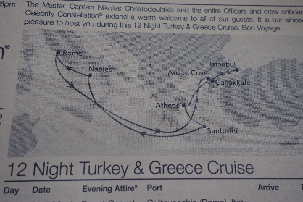 ANZAC Day Cruise with Celebrity Cruises