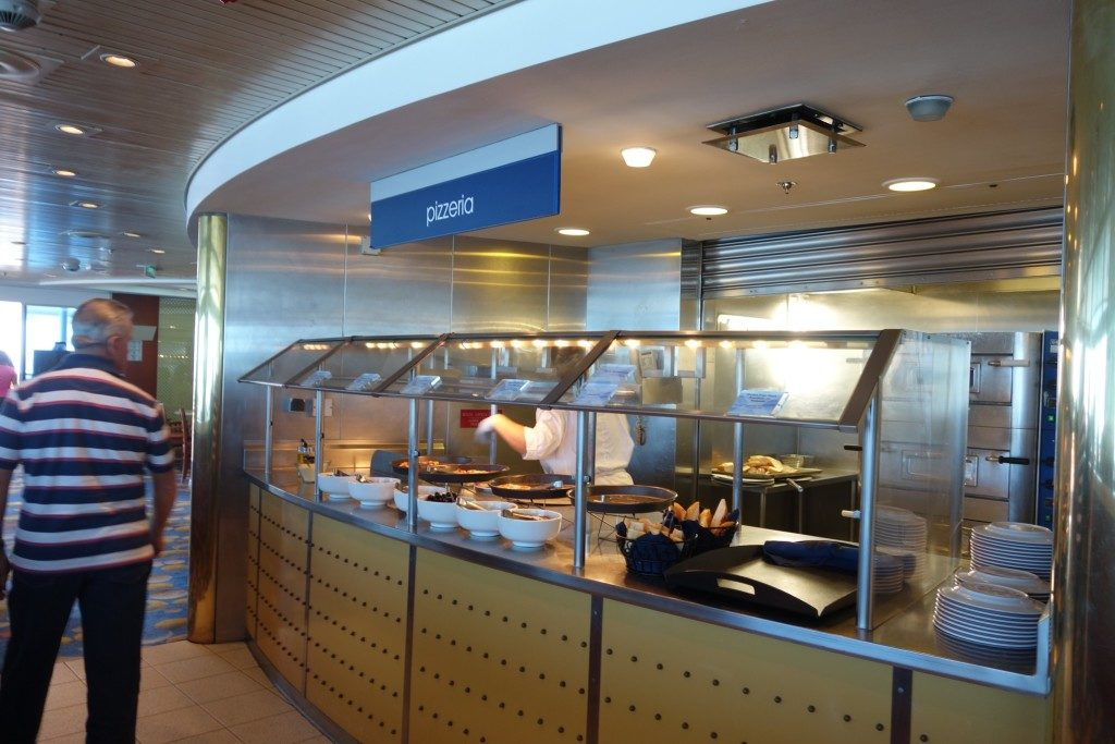 My favourite: Buffet at the Oceanview Cafe