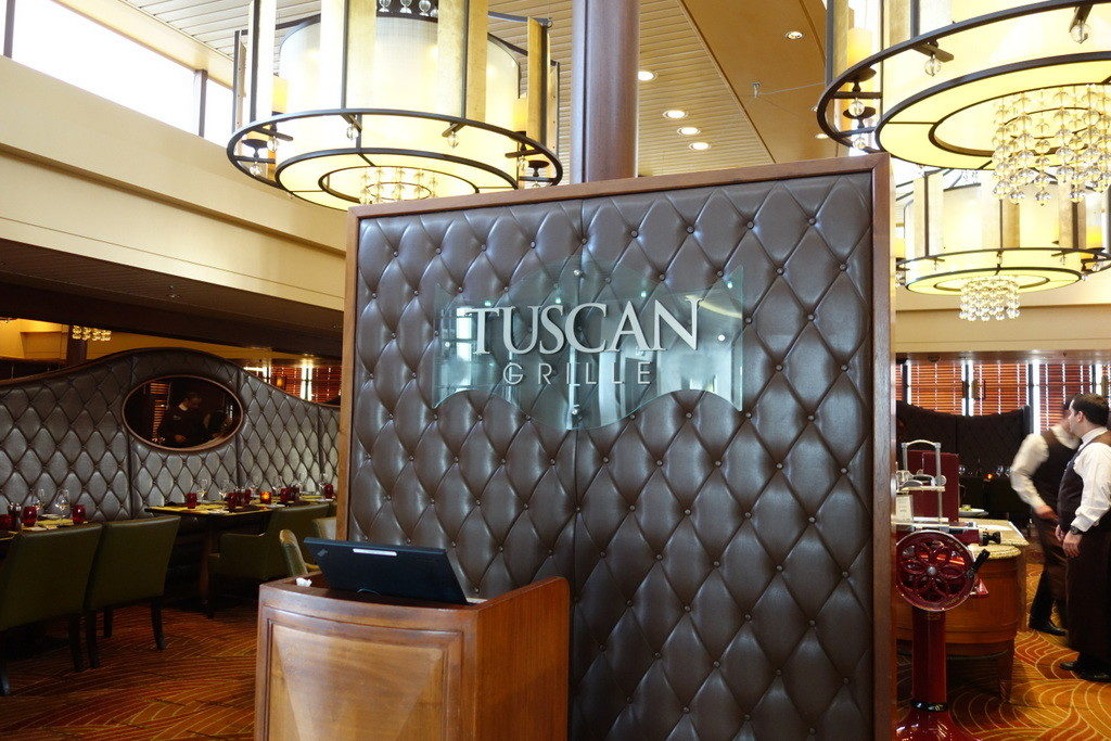 Tuscan Grille - Celebrity Constellation's Specialty Italian Restaurant