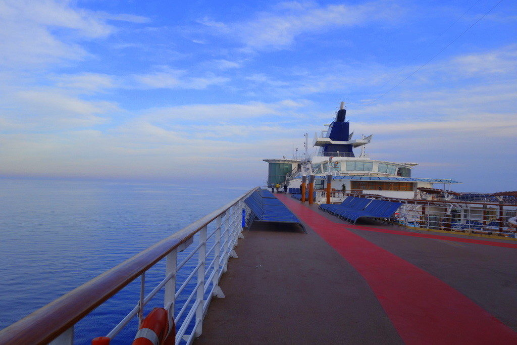 Jogging track of Celebrity Constellation