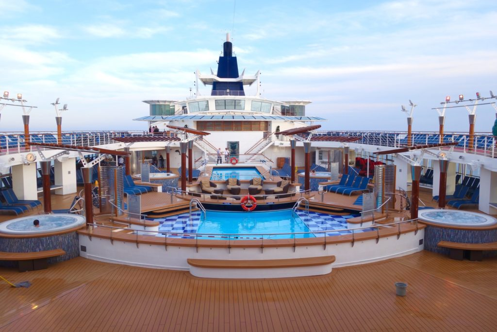 Pooldeck of Celebrity Constellation