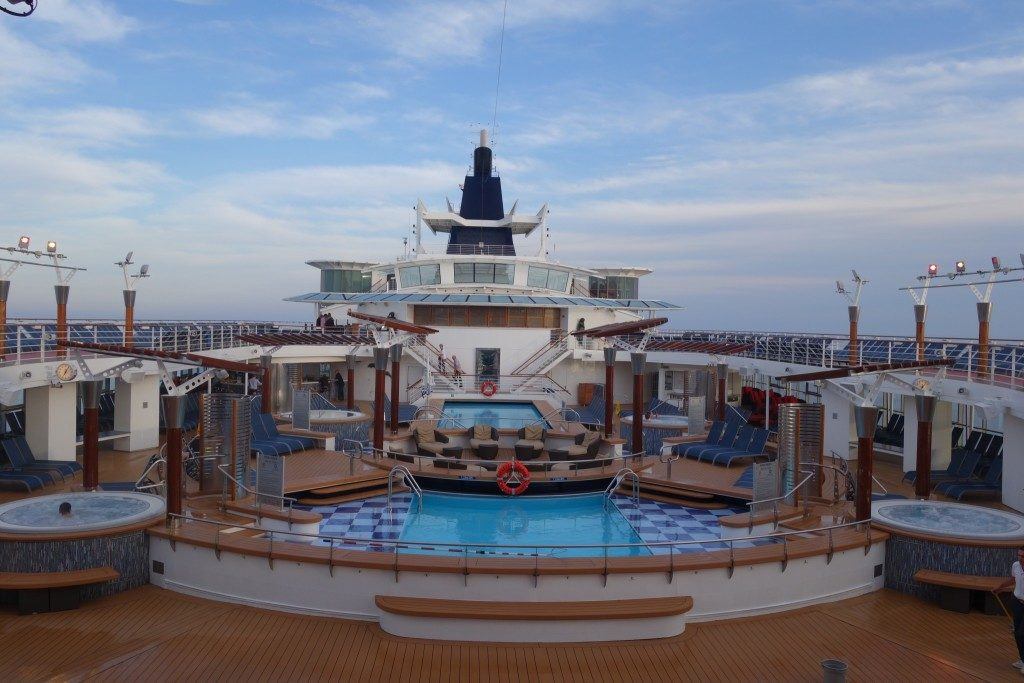Pool deck of Celebrity Constellation