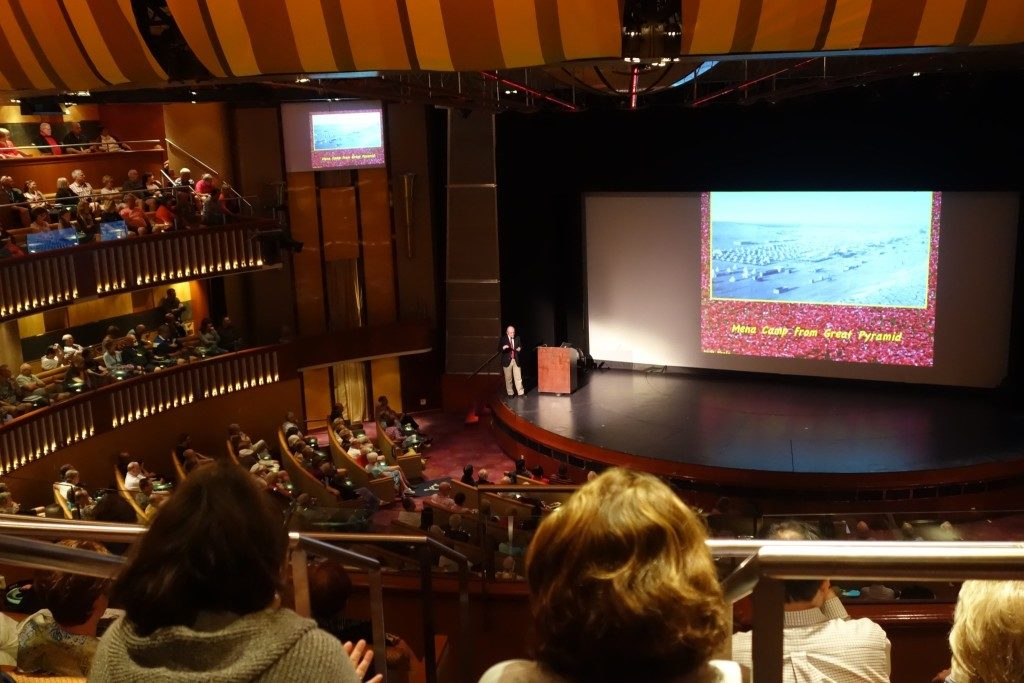 Lecture by Dr Peter Donovan about the ANZACs at Celebrity Theatre