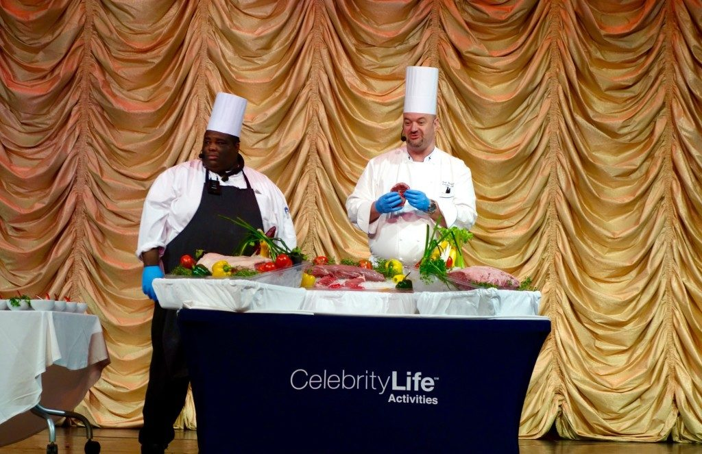 Celebrity Life Activities: Live Demonstration, How to Make the Perfect Steak