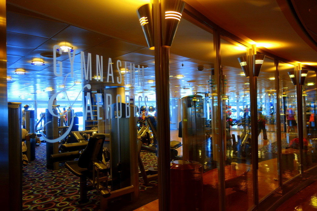 Gym at Celebrity Constellation
