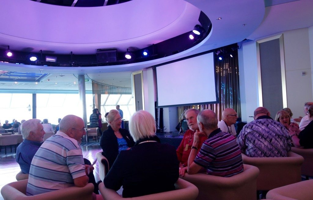 Afternoon Trivias: One of my favourite activities in the cruise!