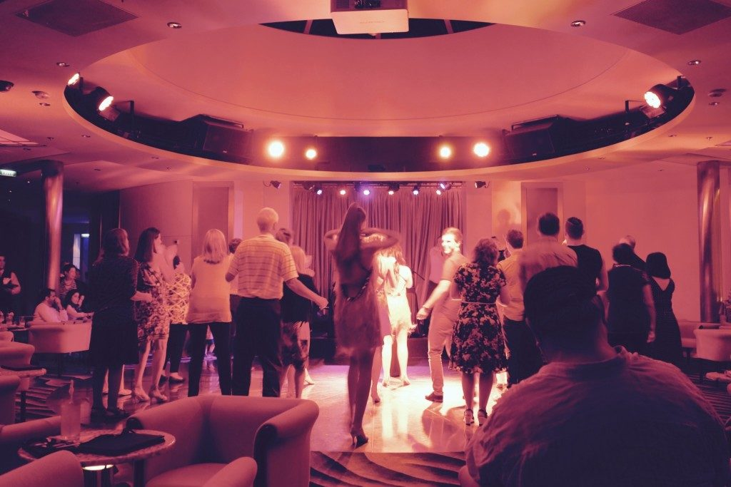 Latin Dance Party at the Reflections Lounge of Celebrity Constellation