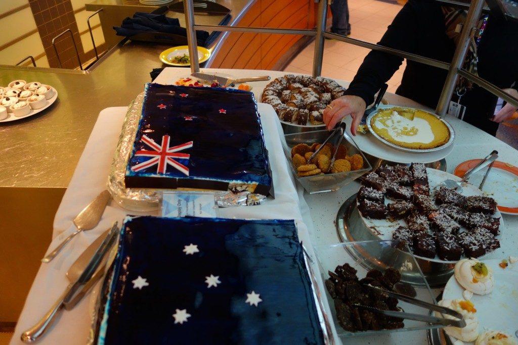an Australian / New Zealand themed dessert.