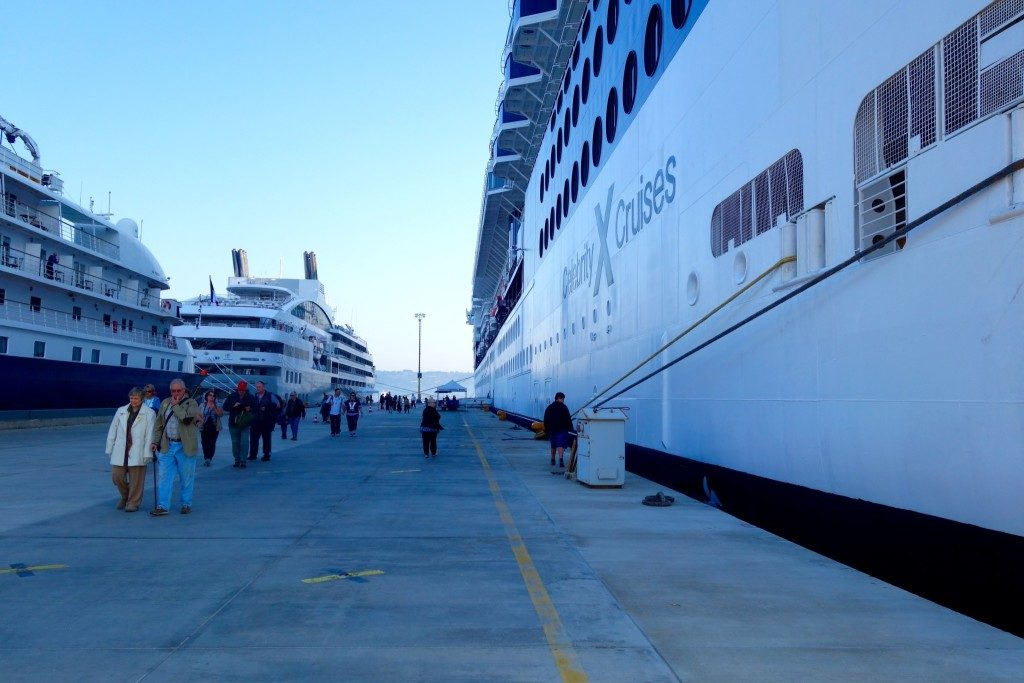 Walking on land! After 3 days on the ship, it was time to head to Gallipoli