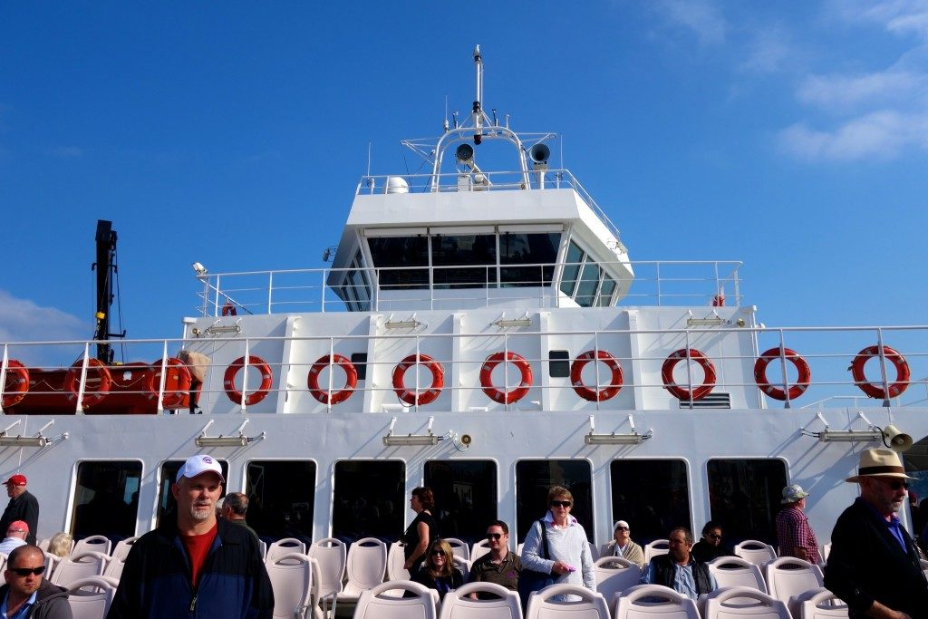 On the ferry, crossing the Dardanelles