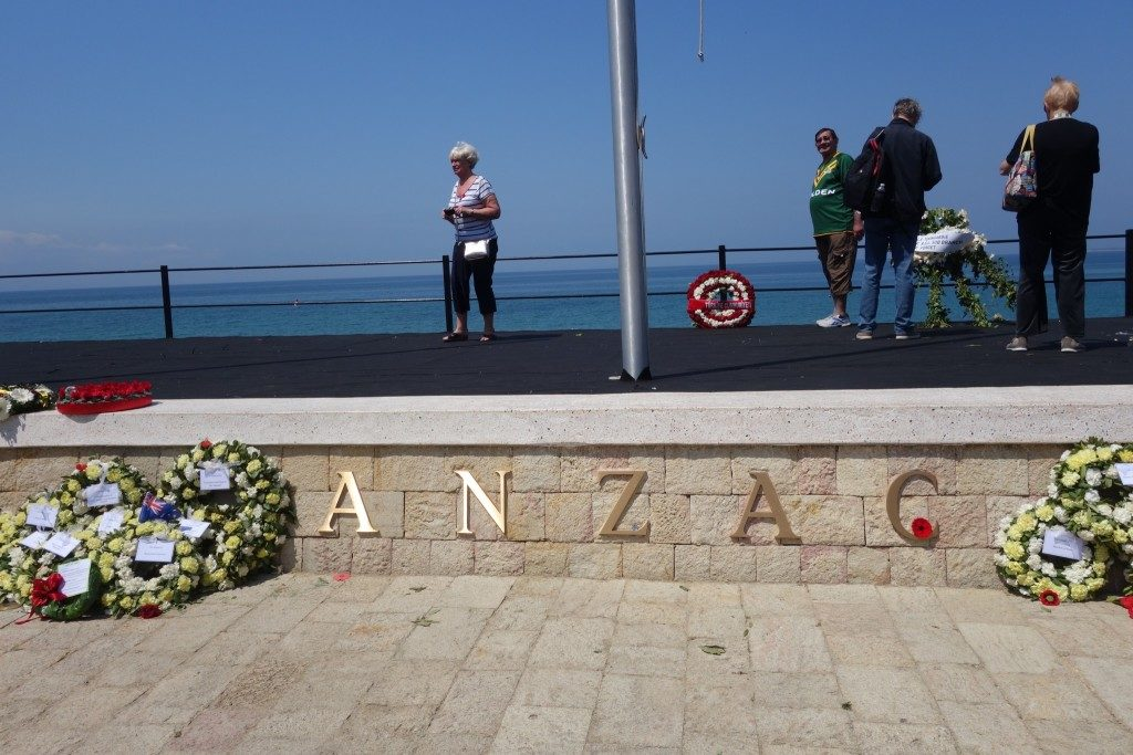 Anzac Cove in Gallipoli